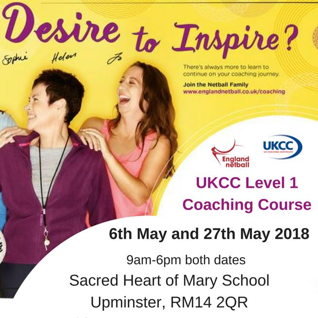 UKCC Level 1 Coaching Course- Sacred Heart of Mary School
